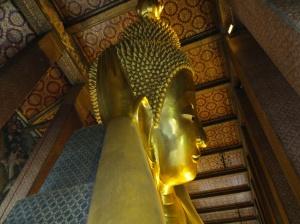 Wat Po, reclining Buddha