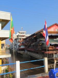 River between Thailand and Myanmar