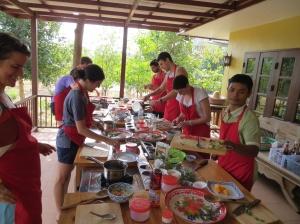 Thai Farm cooking
