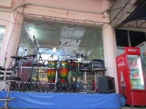 Myanmar reggae cafe