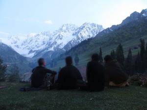 Kashmir campfire